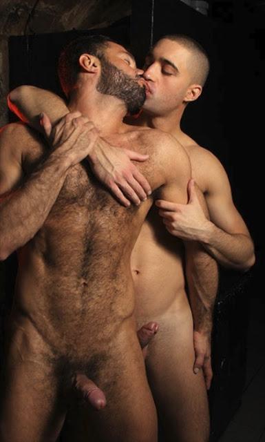 Latin Gay Hunk Kiss
